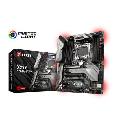 PLACA BASE MSI X299 TOMAHAWK - PB01MS127