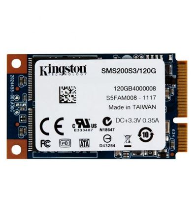 DISCO SSD KINGSTON 120GB MSATA MS200 SSDNOW - SS02KG01