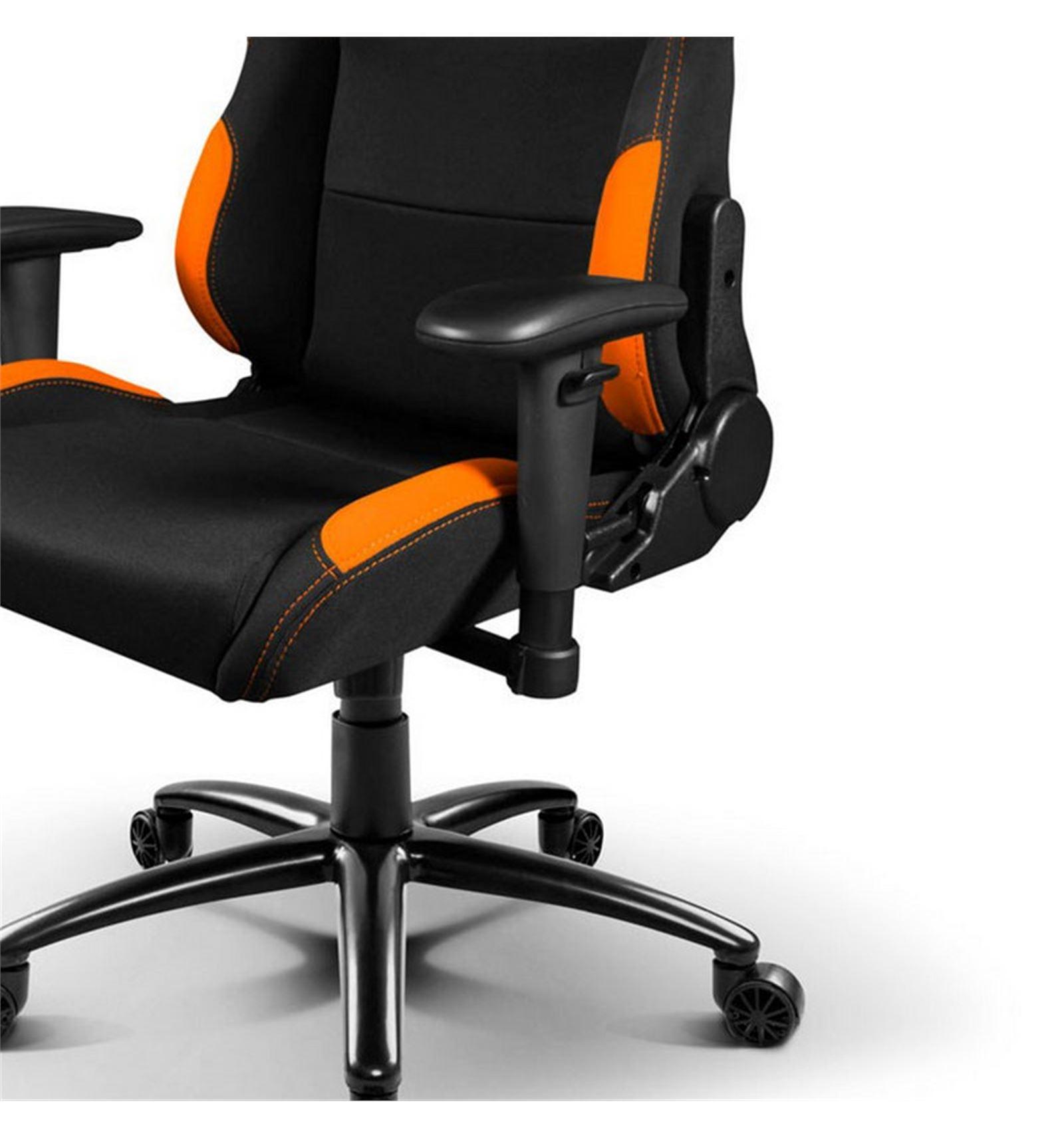 Comprar silla gaming drift dr100 negra naranja red computer for Donde comprar una silla gamer