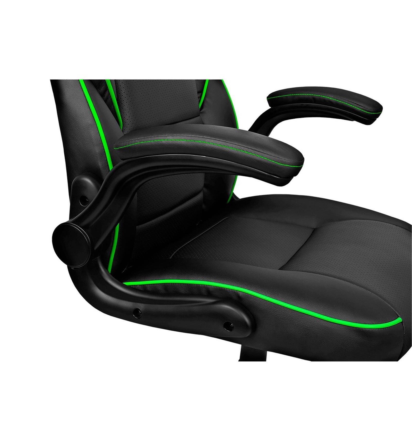 Comprar Silla Gaming Drift Dr75 Negra Verde Red Computer
