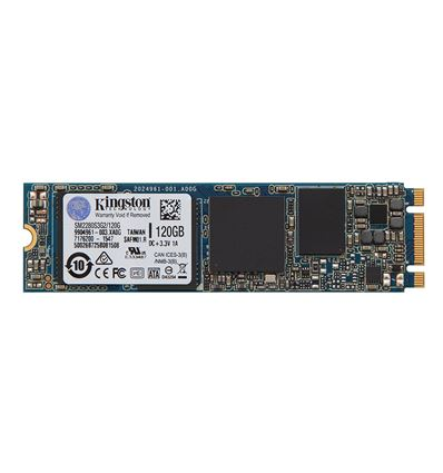 DISCO SSD KINGSTON 120GB M.2 P/N: SM2280S3G2 - SS01KG14