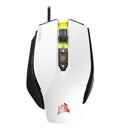 RATON CORSAIR M65 RGB GAMING LASER BLANCO - RA01CO02