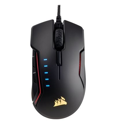 RATON CORSAIR GAMING GLAIVE NEGRO RGB - RA01CO04-5