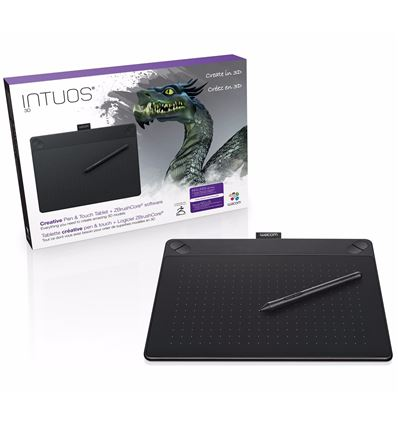 TABLETA DIGITALIZADORA WACOM INTUOS 3D BLACK PT M - TB01WC20