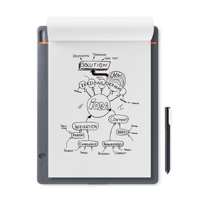 TABLETA DIGITALIZADORA WACOM BAMBOO SLATE SMALL - TB01WC26-2