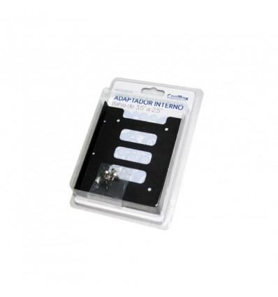 ADAPTADOR COOLBOX BAHIA 3.5 A 2.5 SSD METAL