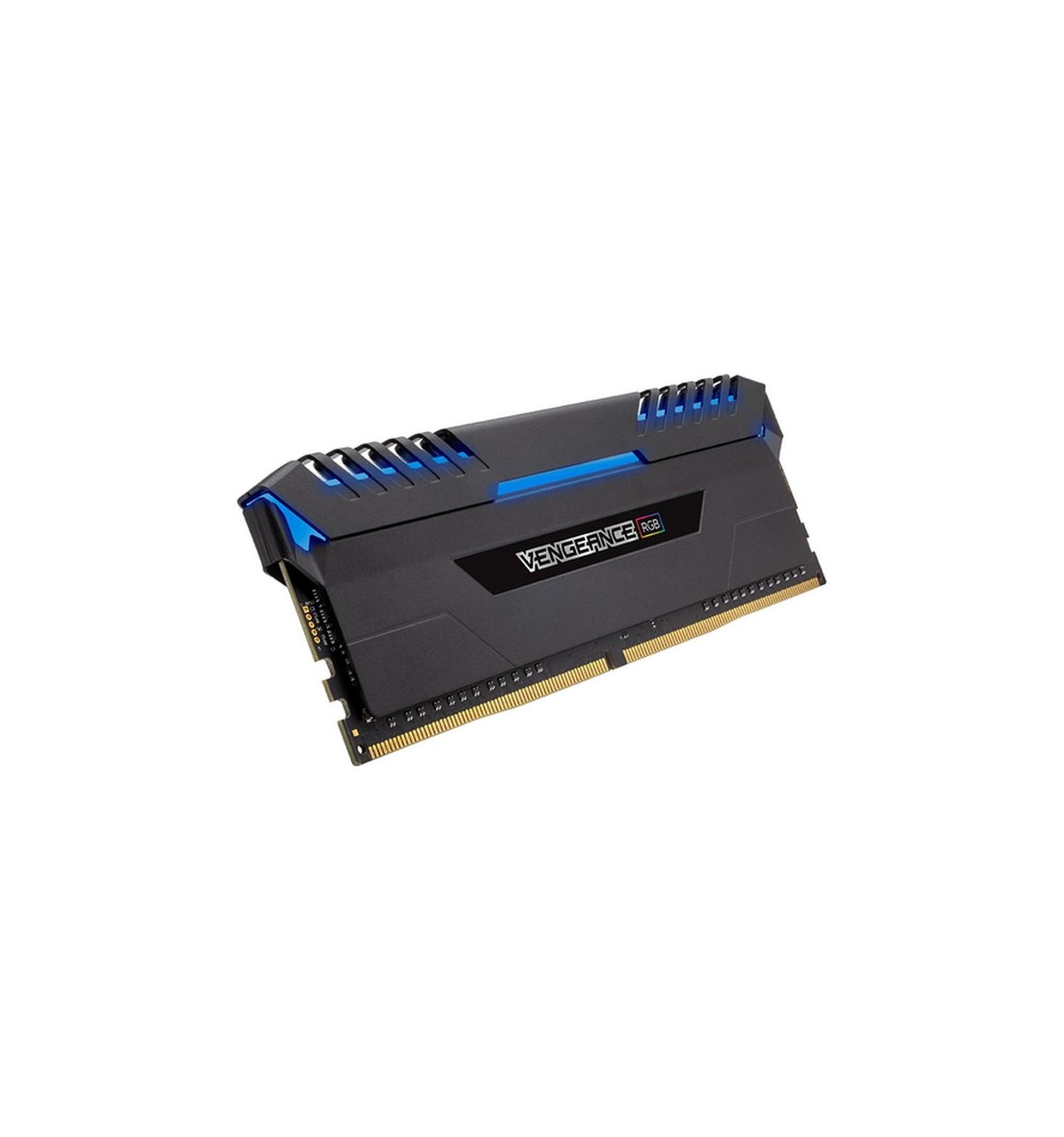 Corsair Vengeance Rgb Led 16gb 2x8gb Ddr4 300016gb Pc25600 32gb 2x16gb Cmu32gx4m2c3200c16r Red Memoria 3000 Computer