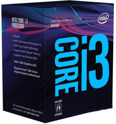 PROCESADOR INTEL I3 8100 3.6GHZ SOCKET 1151C