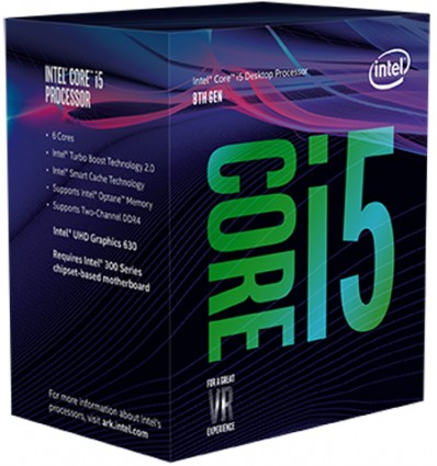 PROCESADOR INTEL I5 8400 2.8GHZ SOCKET 1151C