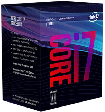 PROCESADOR INTEL I7 8700 3.2GHZ SOCKET 1151C