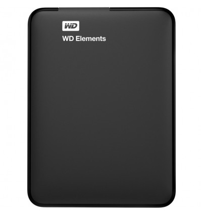 DISCO DURO WD ELEMENTS 1TB 2.5 EXTERNO BLACK USB