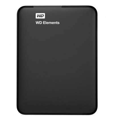 DISCO DURO WD ELEMENTS 2TB 2.5 EXTERNO BLACK USB