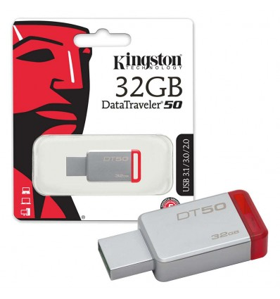 MEMORIA PENDRIVE KINGSTON 32GB DT50/32GB USB 3.1
