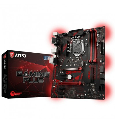 PLACA BASE MSI Z370 GAMING PLUS