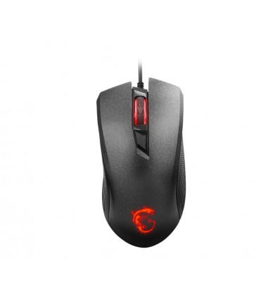 RATON MSI GAMING CLUTCH GM10 2400DPI NEGRO