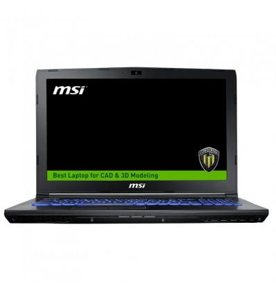 PORTATIL MSI WE62-1839XES I7 7700 16GB 256 + 1TB