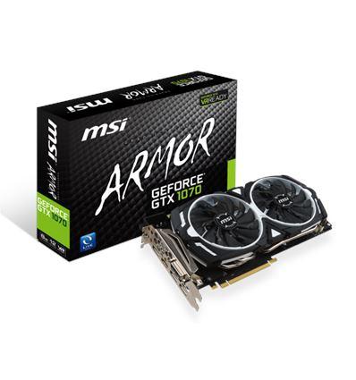 TARJETA GRAFICA MSI GTX 1070 8GB ARMOR - MSI GTX1070 ARMOR 8GB