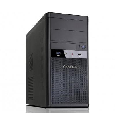 CAJA COOLBOX M55 MICRO ATX CON FUENTE 500W