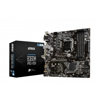 PLACA BASE MSI B360M PRO-VDH SOCKET 1151C