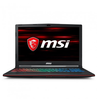 PORTATIL MSI GP63-8RE-041XES I7 8750H 16GB 256+1TB