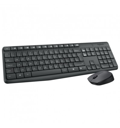 TECLADO LOGITECH MK235 WIRELESS COMBO 920-007919