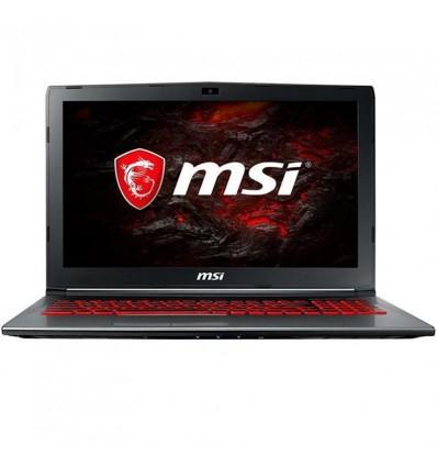 PORTATIL MSI GV62-1654XES I7 7700 8GB 1TB 1050
