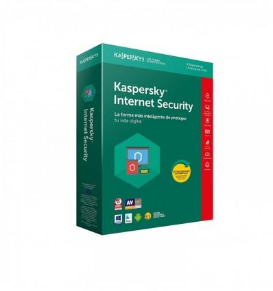 ANTIVIRUS KASPERSKY 2018 INTERNET SECURITY 4 LIC