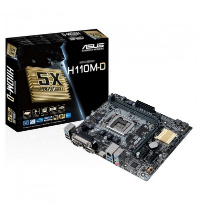 PLACA BASE ASUS H110M-D SOCKET 1151 - PB01AS78