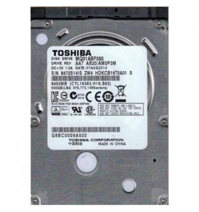DISCO DURO TOSHIBA 500GB 2.5 SATA MQ01ABF050