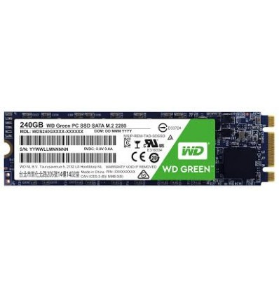 DISCO SSD WD GREEN 240GB M.2 SATA