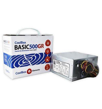 FUENTE DE ALIMENTACION COOLBOX BASIC 500GR 500W - COOLBOX BASIC 500GR