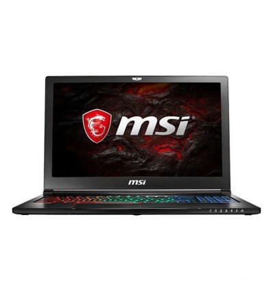 Portátil MSI GS63-8RE-012XES i7 8750 16GB RAM 1TB + 256GB SSD