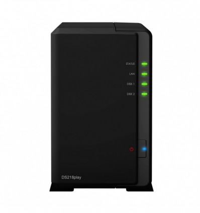SERVIDOR NAS SYNOLOGY DS218 PLAY