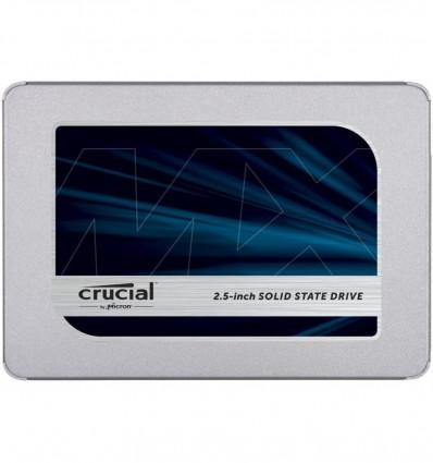 DISCO SSD CRUCIAL 2TB MX500CT2000MX500SSD1 SATA 3