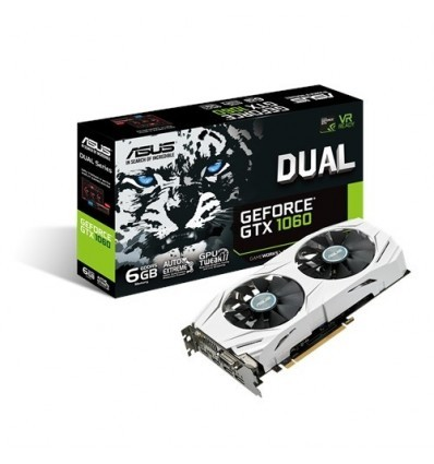 TARJETA GRAFICA ASUS DUAL GTX1060 6GB DDR5