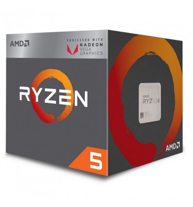 PROCESADOR AMD RYZEN 5 2400G SOCKET AM4