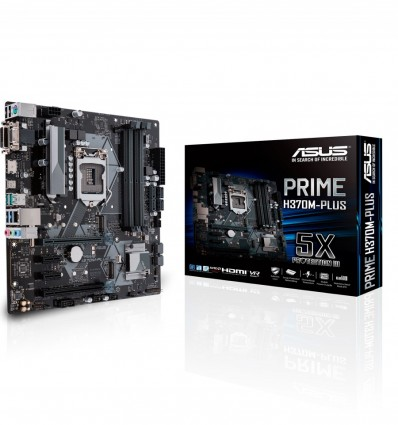 PLACA BASE ASUS H370M-PLUS SOCKET 1151C