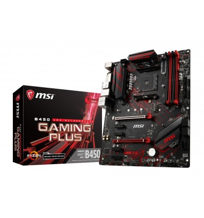 PLACA BASE MSI B450 GAMING PLUS