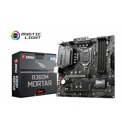 PLACA BASE MSI B360M MORTAR SOCKET 1151C