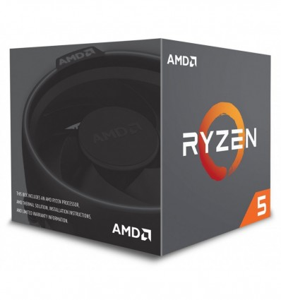 PROCESADOR AMD RYZEN 5 2600 AM4 3.4GHZ