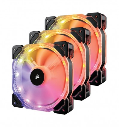 VENTILADOR CORSAIR CAJA HD120 TRIPLE PACK