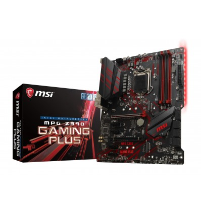 PLACA BASE MSI Z390 GAMING PLUS