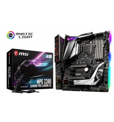 PLACA BASE MSI Z390 GAMING PRO CARBON AC
