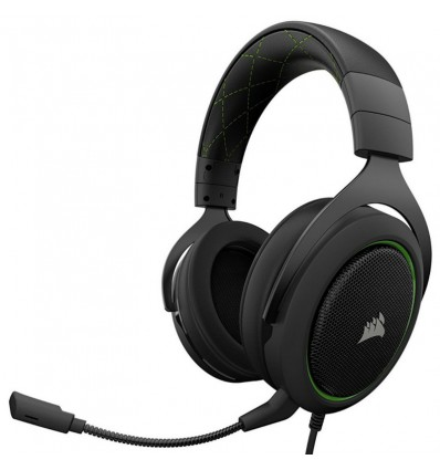 AURICULAR CORSAIR HS50 GAMING PC VERDE