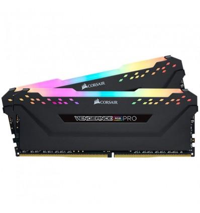 MEMORIA CORSAIR 16GB (2*8) DDR4 3200 RGB PRO