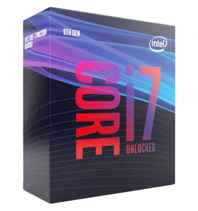 PROCESADOR INTEL I7 9700K 3.60GHZ SOCKET 1151