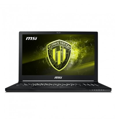 PORTATIL MSI WS63-038ES I7-8750 16GB 256+1TB P2000