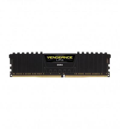 MEMORIA CORSAIR 16GB DDR4 2666 VENGEANCE LPX BLACK