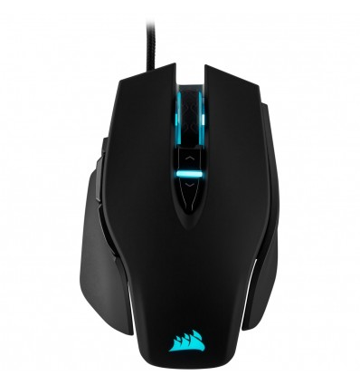 RATON CORSAIR M65 RGB ELITE GAMING LASER NEGRO