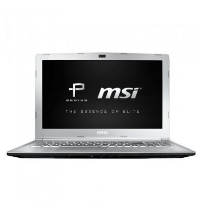 PORTATIL MSI PE62-234ES i7-8750 16GB 256+1TB